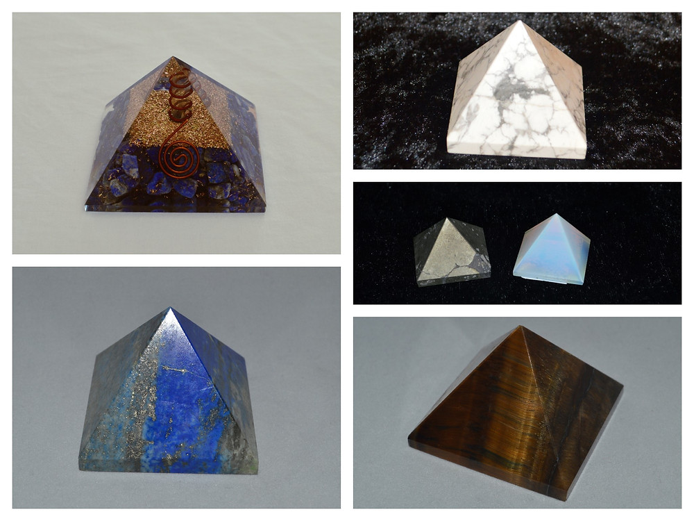 What are pyramid Gemstones used for?