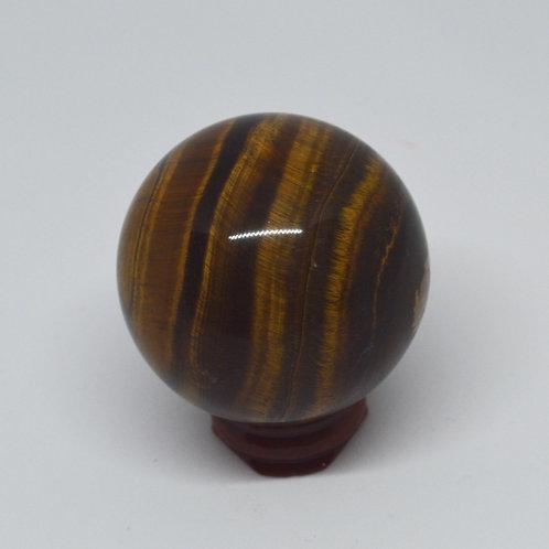 Sphere- Golden Tiger Eye 1254