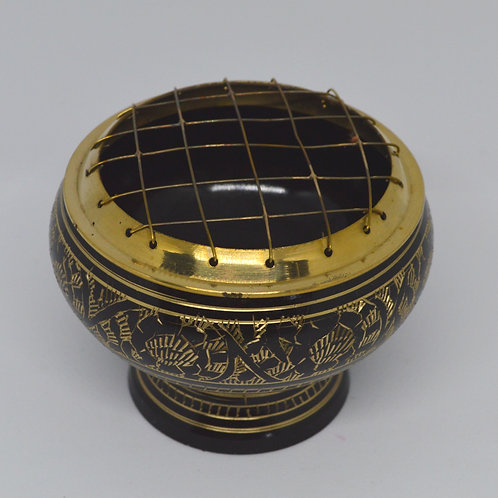 Incense Charcoal Burner- Brass 1349