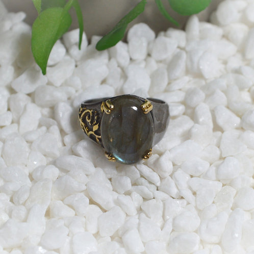 Labradorite Ring 1126