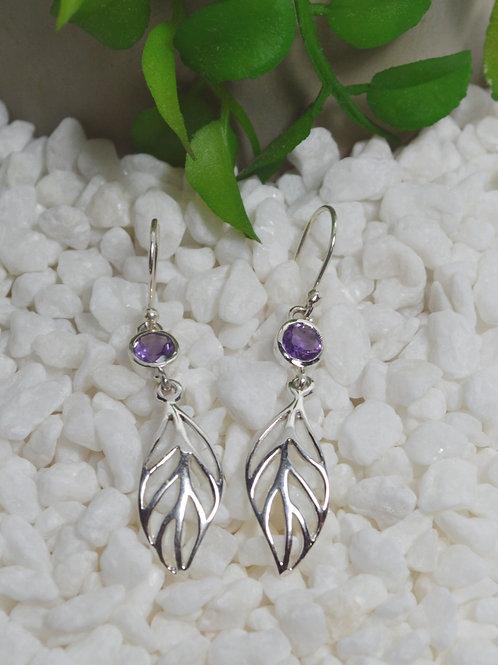 Amethyst Earrings 1305