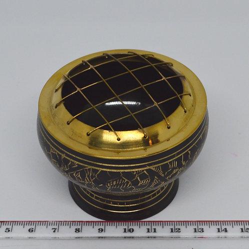 Incense Charcoal Burner- Brass 1350