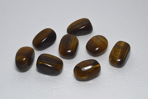 Tiger Eye (Golden) Tumbles Medium
