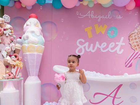 Abigail is TWO sweet!