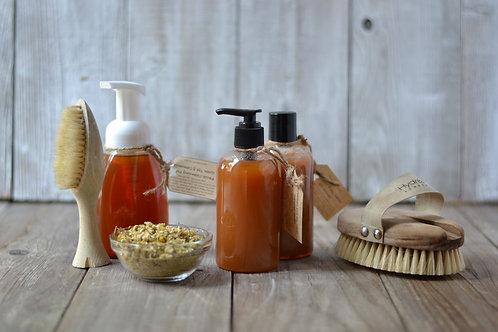 Жидкое мыло горячим способом
