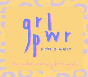 GRL PWR CARD GAME