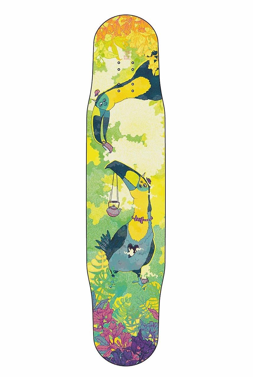 Skateboarddesign für Bastl Boards Leipzig