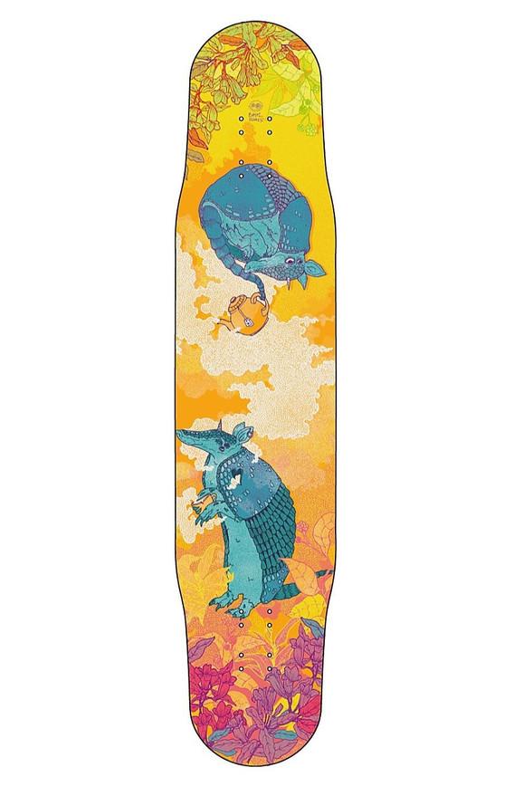Skateboard design for Bastl Boards Leipzig
