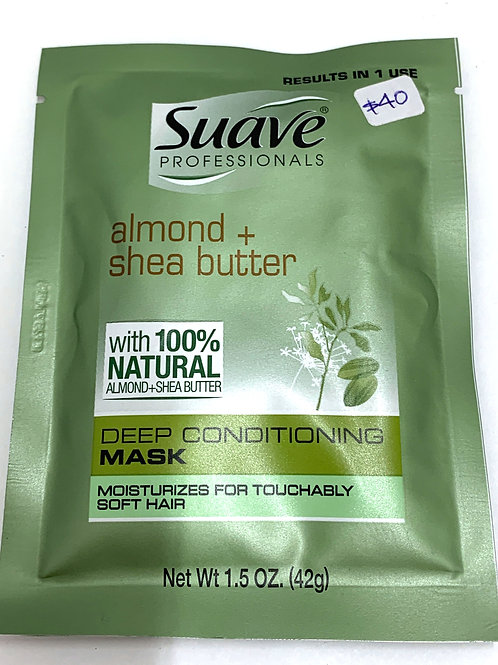 SUAVE ALMOND+SHEA BUTTER MASK