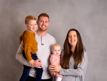The first and the last times - Cornwall family photographer
