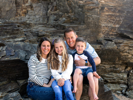 Outdoor family photography Cornwall