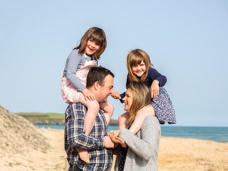 Cornwall family photographer that captures love, connection, and real moments.