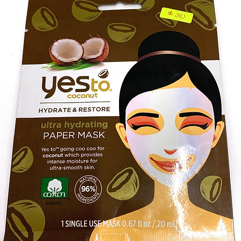 YES TO PAPER MASK