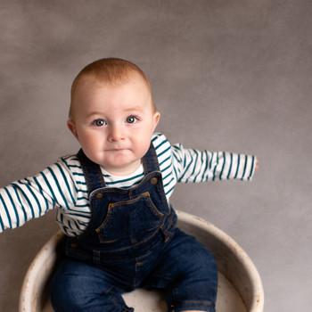 Cornwall baby photographer