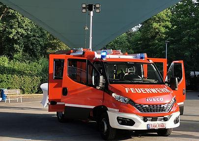 Unser neues Feuerwehrfahrzeug