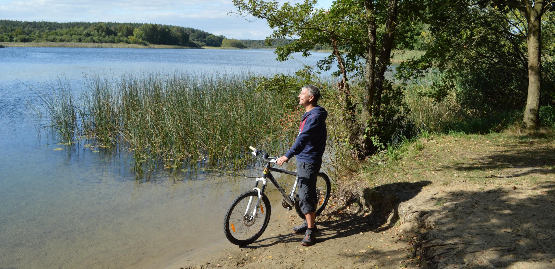 Mit dem Rad im Seenland