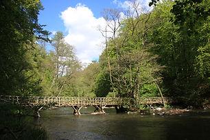 Brücke im Haupttal
