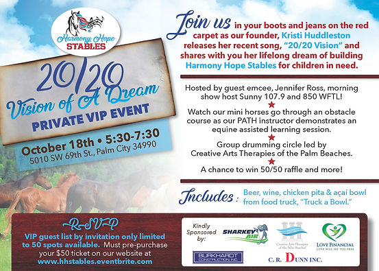 20_20 Vision of A Dream event flyer_Page