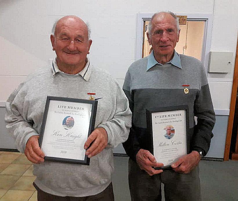 Life Members - Ken & Milton