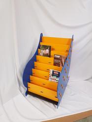 Paisley graphic novel displayer