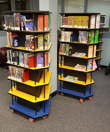 Tall Stakx paperback book displayer