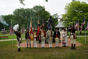 Commemoration of the route to Yorktown, VA