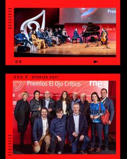 """Premios """"El Ojo Crítico"""" 2017 de RNE"""