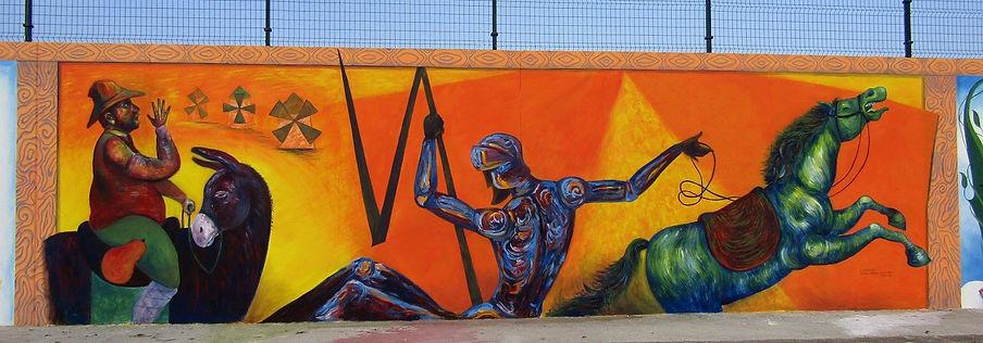 Pintura mural dedicada al Quijote.jpg