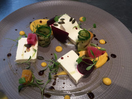 Goats Cheese Mousse - beetroot - Balsamic