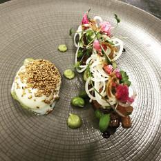 Seared Tuna - Sesame Egg