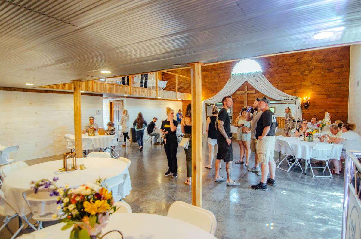 Draping Barn Wedding Venue
