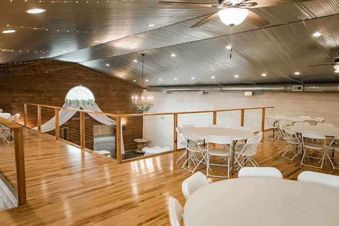 Loft view wedding venue