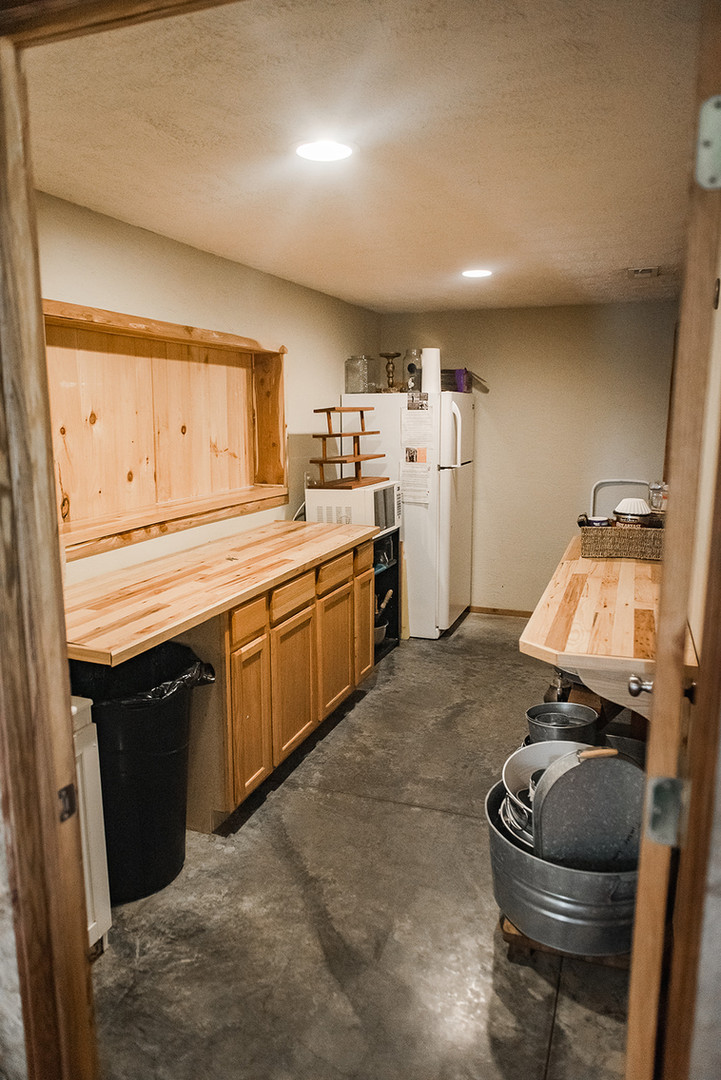 Timber Line Barn Kitchen