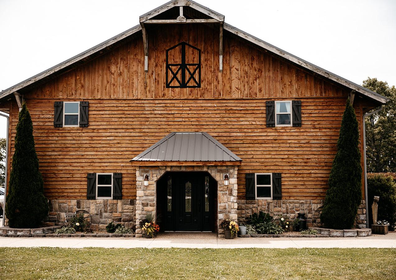 Springfield MO countryside wedding venue