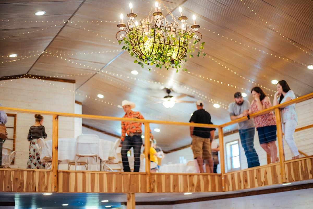 Fairy Lights Wedding Venue