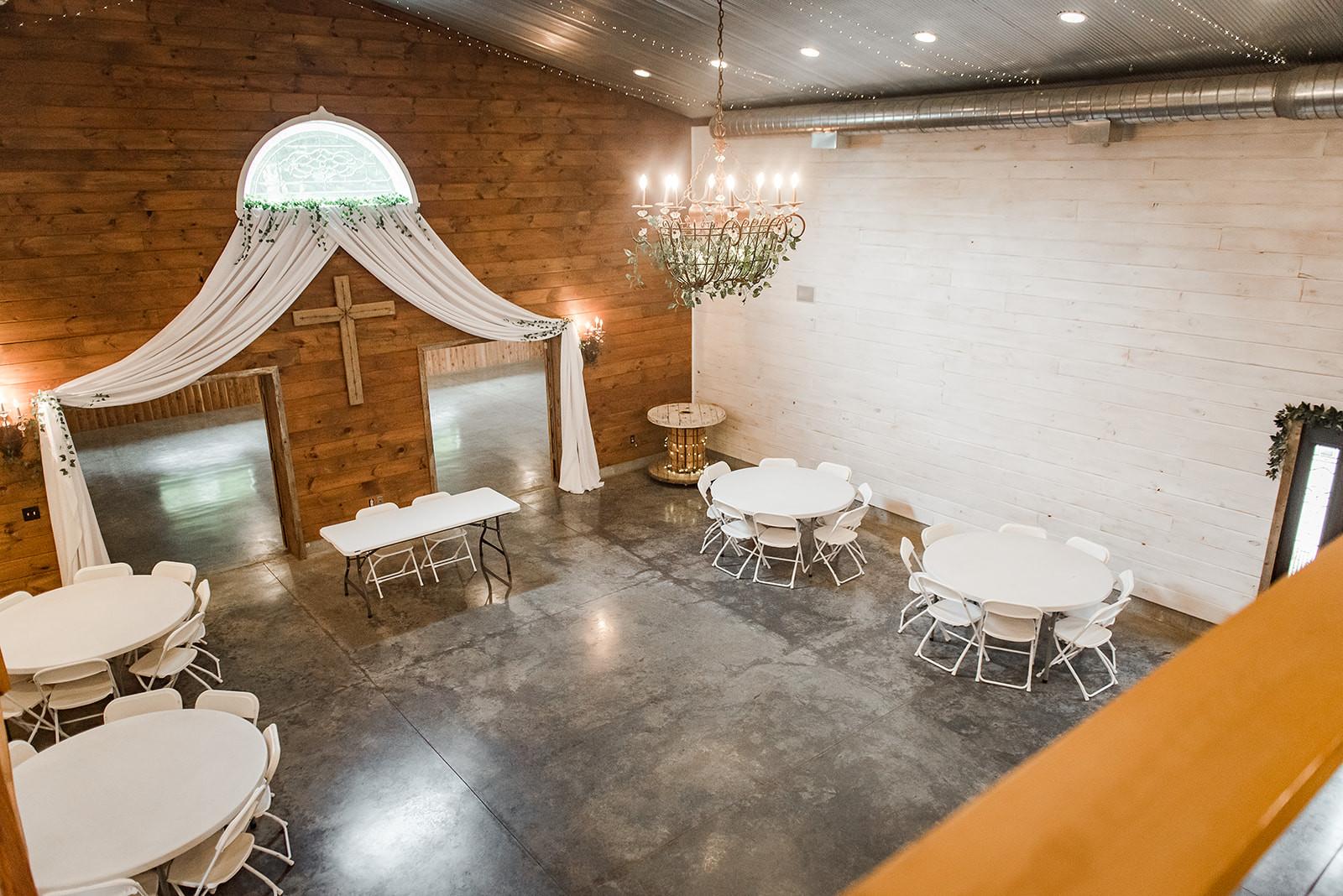 chandelier wedding venue