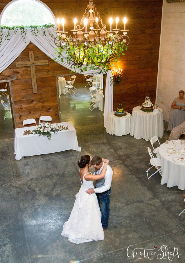 First Dance rustic wedding springfield mo
