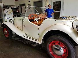 MG, Kit car, detail shop