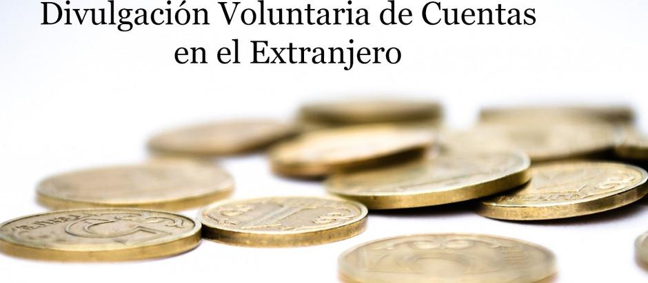 Se Aproxima la Terminación del Programa de Divulgación Voluntaria de Cuentas en el Extranjero del IR