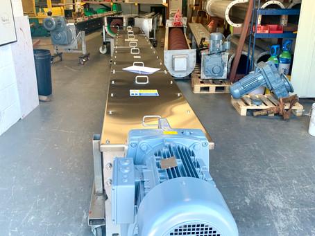 15 Meters of Screw Conveyor!