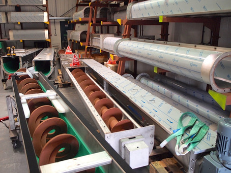 70x Meters of Modular Screw Conveyors!