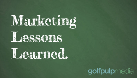 Marketing Takeaways from Booking Golf Lessons Online