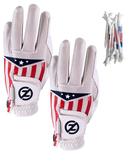 White Americana 2 Glove Pack