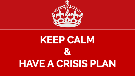 Don't Wait Until There's a Crisis to Formulate a Plan