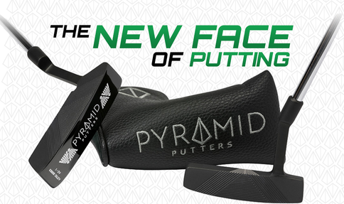Pyramid Putters promise an online putt from center, heel, and toe