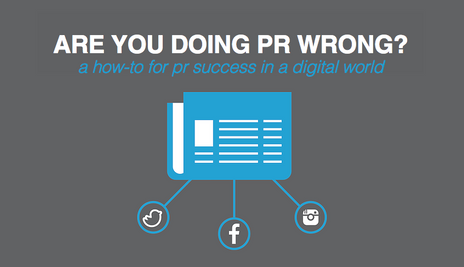 Are You Doing PR Wrong?