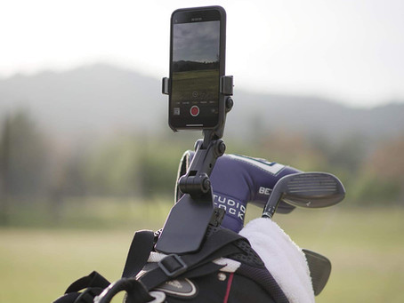 Qlippy: The Ingenious Smartphone Holder for Golfers...finally