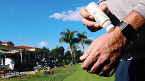 Golfers Discover a Natural Alternative to Treating Aches, Pains, Arthritis, Anxiety and more...
