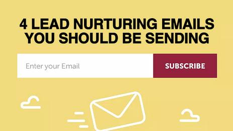 4 Lead Nurturing Emails Your Golf Business Should be Sending