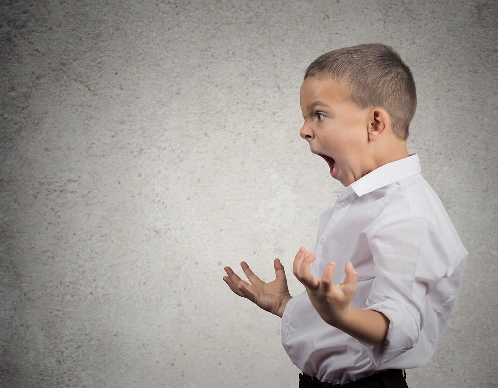 Calming a toddler tantrum with Positive Discipline tools